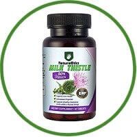 Milk Thistle Extract For Liver Cleanse And Detox By NatureOtics