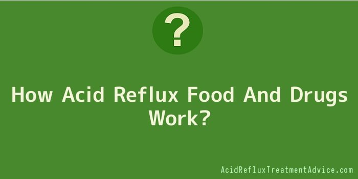 How Acid Reflux Food And Drugs Work